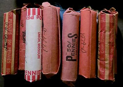 1979-D Denver Mint Lincoln Memorial Cent Penny Roll