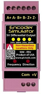 Encoder Simulator and Tester 5 to 24VDC Open Collector