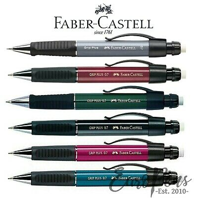 Faber Castell GRIP PLUS 1307 Ergonomic Mechanical Pencil (0.7mm) ALL COLOURS