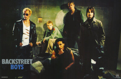 POSTER :MUSIC :BACKSTREET BOYS  - ALL 5 POSED - FREE SHIPPING  #7579 RC11 i