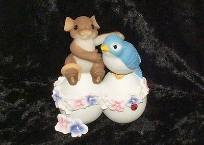 Charming Tails Mouse Figure Friends Egg stra Special 98 585 Rare Retired NIB