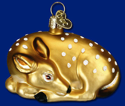 Old World Christmas Fawn Ornament  12201 24