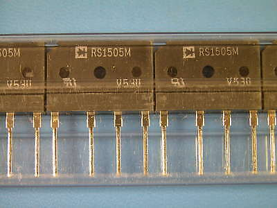 LOT 15PCS NEW RS1505M RECTRON Bridge Rectifiers 15A 600V