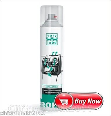 XADO Very Lub gel auto conditioner A/C cleaner Antibacterial can 320 ml