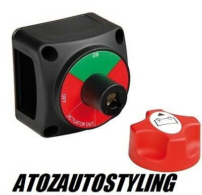 Anti Theft Heavy Duty Battery Isolator Switch For Cars Vans Lorry Cut Off Switch