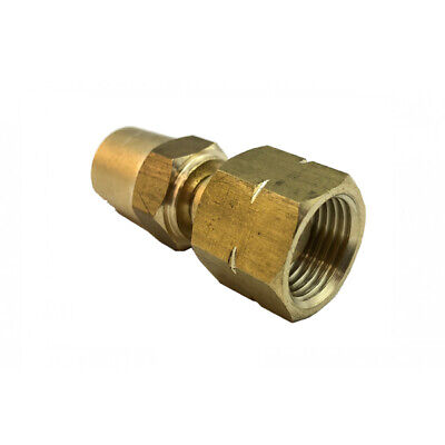2 x Hose Connector LH (Fuel) Reusable Fitting – LP240 oxy hose end