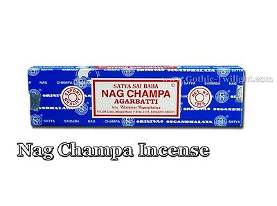 Nag Champa Incense 15gramme Blue Packet Original Wicaa Aromatherapy Sai Baba New