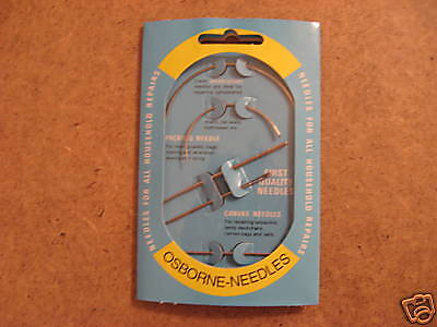 Osborne Pack Of 25 Glover/'s Needles #518 Size 1 Made In USA 518-1 C.S
