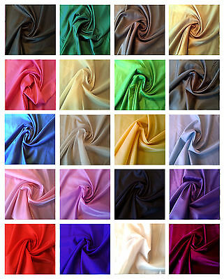 Anti Static Dress Lining Fabric - Dress & Jacket Material 150cm Wide  Polyester