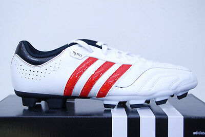 Adidas 11Questra TRX FG White/Red - Men's Cleats Soccer Shoes NEW!