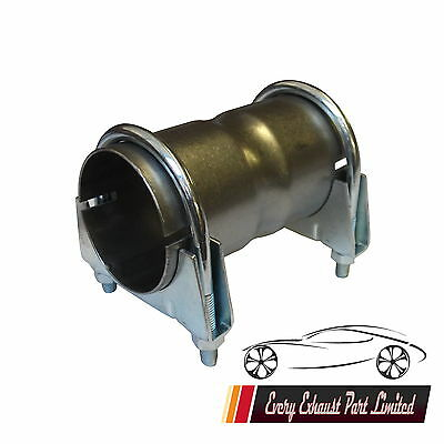 Heavy Duty Exhaust Pipe Connector Joiner 44-46mm ID x90mm