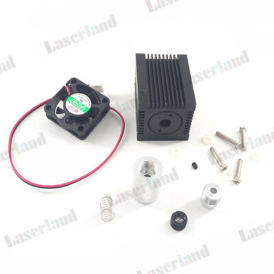 Focusable Housing/Case/Heatsink for 5.6mm TO18 Laser Diode LD Module Lens Fan