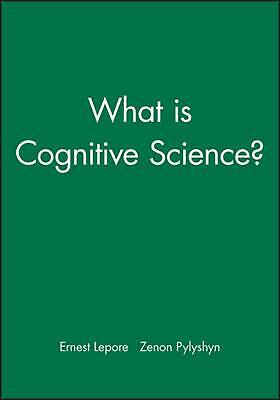 What Is Cognitive Science? by Lepore (English) Paperback Book Free Shipping!