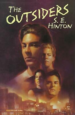 The Outsiders by S.E. Hinton (English) Hardcover Book Free Shipping!