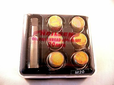 Oil Sump Thread Repair Kit, M19 Re-taps To M20, 19mm to 20mm, NEW UK STOCK