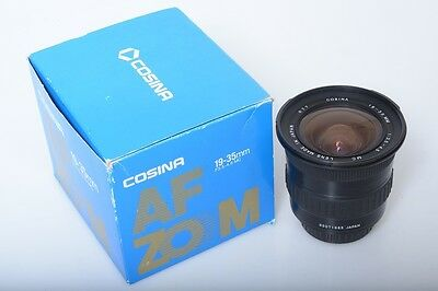 Cosina 19-35Mm Zoom 3.5-4.5 Mc For Minolta Af Sony Alpha *Mint*