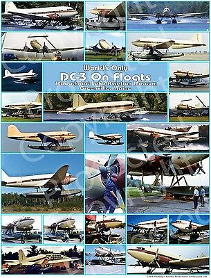 DC-3 On Floats - World's Only One - Unique Aircraft - Seaplane Poster