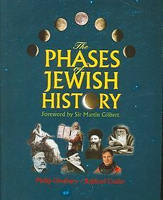 NEW The Phases of Jewish History by Philip Ginsbury Paperback Book (English)
