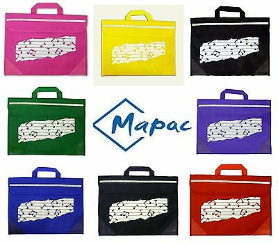 Mapac Duo Music Bag Carrier For Sheet Music Choral Orchestral Music School Bag