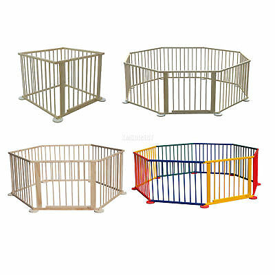 WestWood Baby Child Children Wooden Foldable Playpen Play Pen Room Heavy Duty