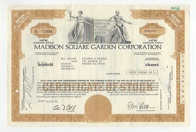 Madison Square Garden Corporation Stock