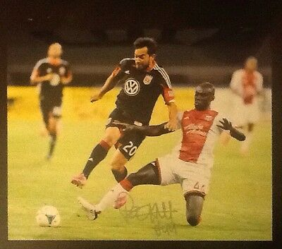 Pa Modou Kah Signed MLS Portland Timbers 8x10 Photo PIC PROOF