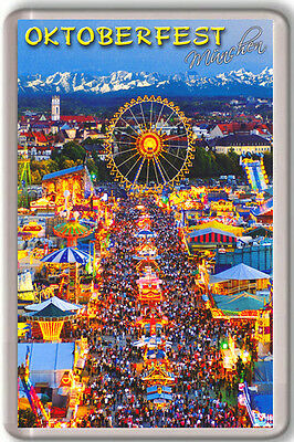 Oktoberfest Munich Germany Fridge Magnet Souvenir Iman Nevera