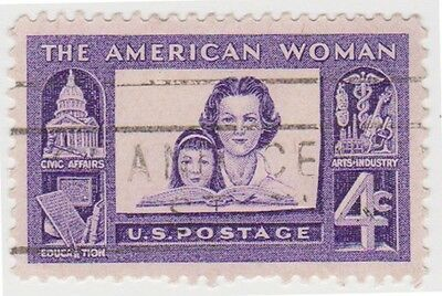 (USB130)1960 USA 4c violet mother and child ow1151