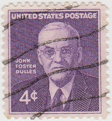 (USB141)1960 USA 4c John forester Dulles ow1171