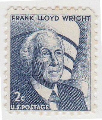 (USB229)1965 USA 2c Frank Lloyd wright ow1261