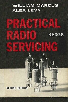 Practical Radio Servicing * 2nd Edition * Marcus-Levy * CDROM * Radio Repair
