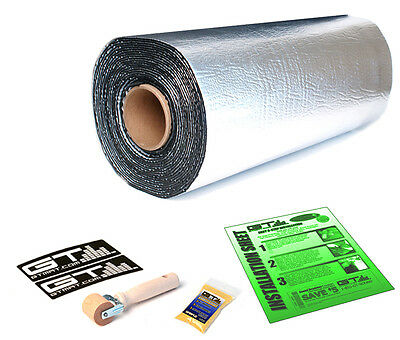 50 SqFt GTMAT Sound Deadener Proofing Thick Insulation Material & Dynamat Sample