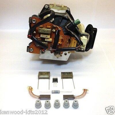 Kenwood Chef A901D/e Excel & Km 200 - 250 Series Evox  Motor Repair Kit & Guide