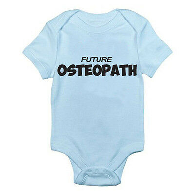 OSTEOPATH FUTURE - Health Care / Healing / Novelty Themed Baby Grow / Romper
