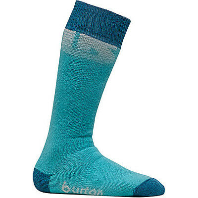 Burton Snowboard Ski Socks Girls Emblem Size 2 - 4 (Youth) NEW