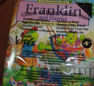 Chick-fil-A Kids Meal Toy Franklin & Harriet TV Turtle Book Booklet 2012 MIP New