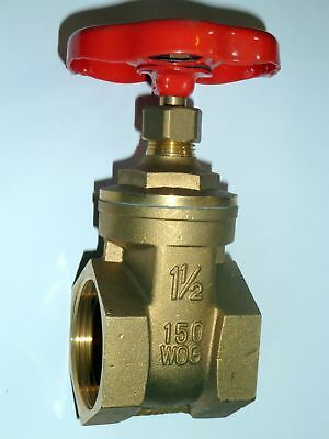 "1-1/2"" BSP Gate Valve 