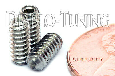 8-32 x 3//4 Socket Set Screws Allen Drive Cup Point Stainless Steel Qty 1000