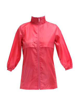 Totes Tgp500 Girl's Kids Packable Rain Jacket Hot Pink Size 5 / 6