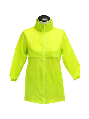 Totes Tgp500 Girl's Kids Packable Rain Jacket Lime Green Size 7