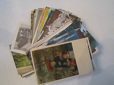 100+ Vintage U.s. Postcards - Unsearched - Used  - 1907 & Up - Lot 11 - Tub Abc