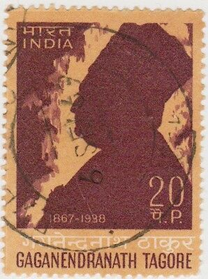 (IB76)1968 INDIA 20p death anni of G Tagore ow567