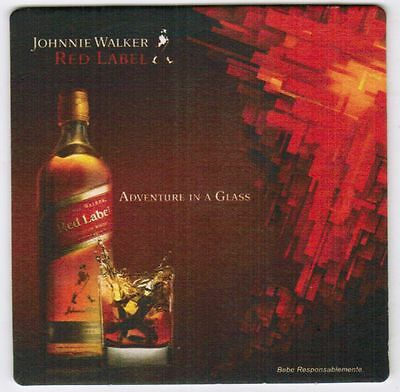 UK Coaster Johnnie Walker Red Label adventure in a Glass