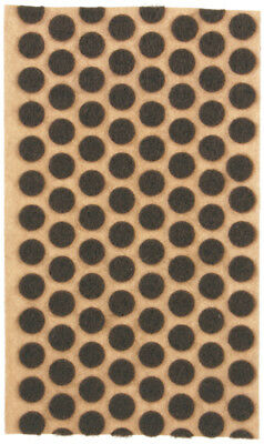 """3/8"""" Brown Felt Dots Surface Protector Pad Trophy Cabinet Furniture Crafts 120+"""