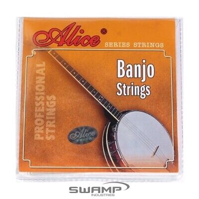 Alice Banjo Strings, 5 String Set, Light Tension, Loop End - 9-21