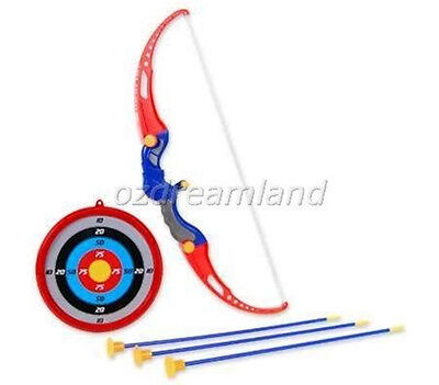 King Sport Kids Archery Set with Target Outdoor Toy Age 6+