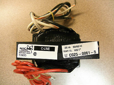 25VA Transformer 460 or 575 Volt Primary 120 Volt Secondary 50/60Hz Flying Leads