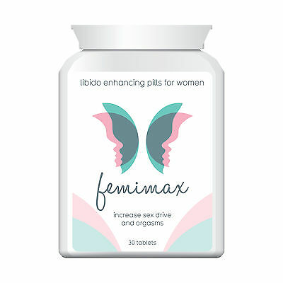 FEMIMAX LIBIDO ENHANCING PILLS FOR WOMEN GREAT SEX INCREASE STRONG ORGASMS Tabs