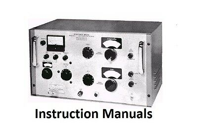 Boonton Instruction Manuals * CDROM * PDF