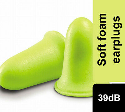 3M EAR Soft FX High Performance Foam Earplugs SNR39dB Ear Plugs